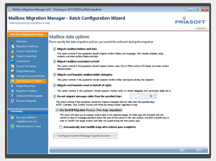 Mailbox-Migration-Manager-Wizard