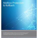 Priasoft Migration Suite for Exchange Mailbox Protection and Roll-back datasheet