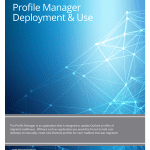 Priasoft profile mananger deployment and use