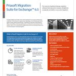Download the Priasoft Migration Suite for Exchange (Exchange migration tools) product datasheet