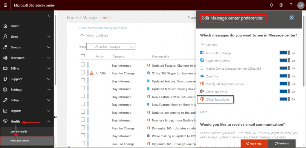 Outlook and Office may fail connecting to Office 365 in